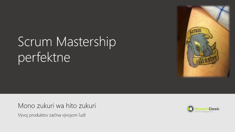 trening scrum master
