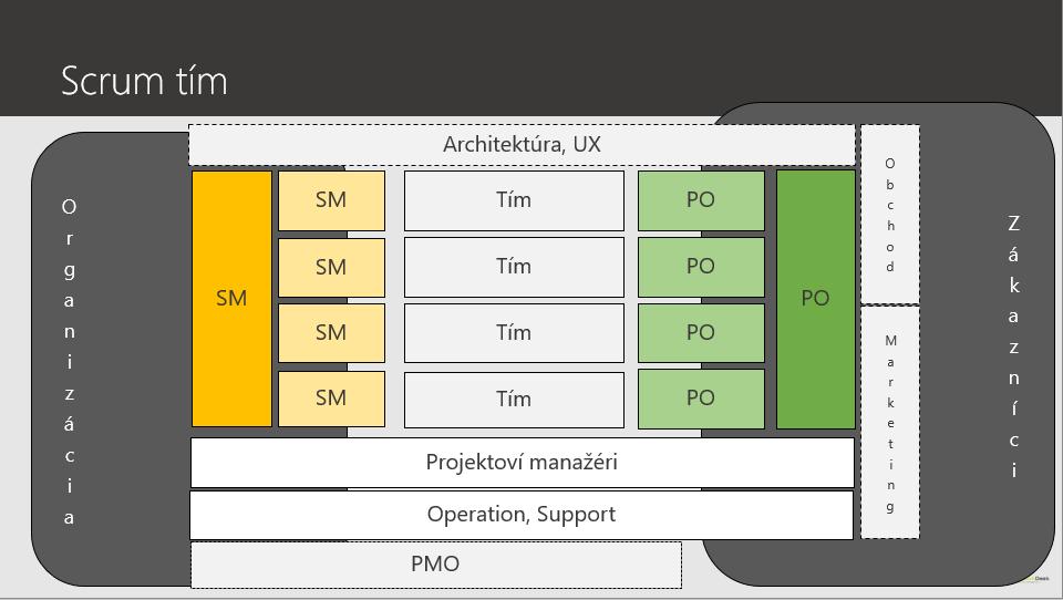 agile architekt projektovy manazer