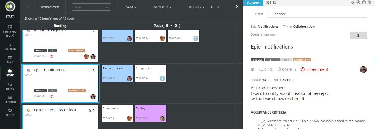 scrudesk start produkt online project management