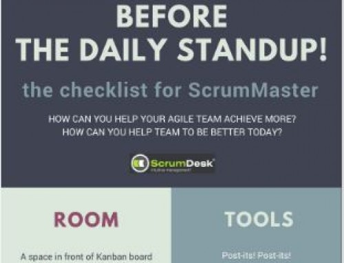 The checklist for your daily standup, part IV.- People & Company