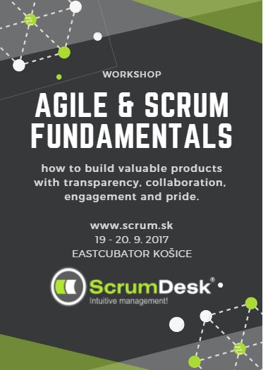 workshop trening zaklady AGILE SCRUM FUNDAMENTALS v2