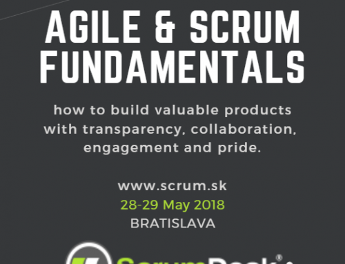 Public training: AGILE & SCRUM FUNDAMENTALS in Bratislava