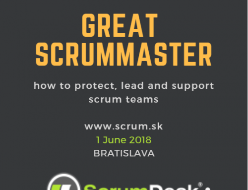 Public training: Great ScrumMaster in Bratislava