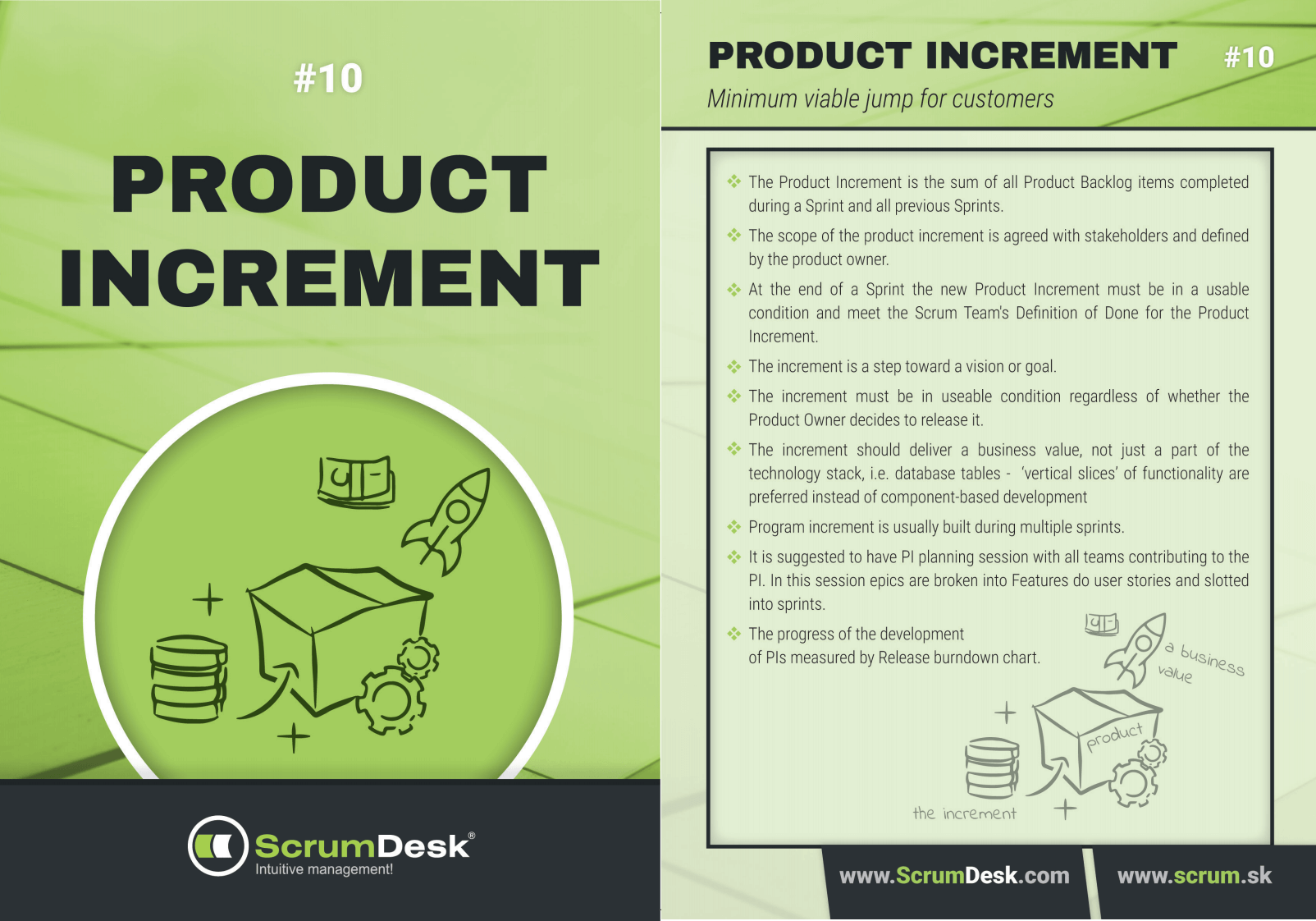 Karty 10 - Product Increment