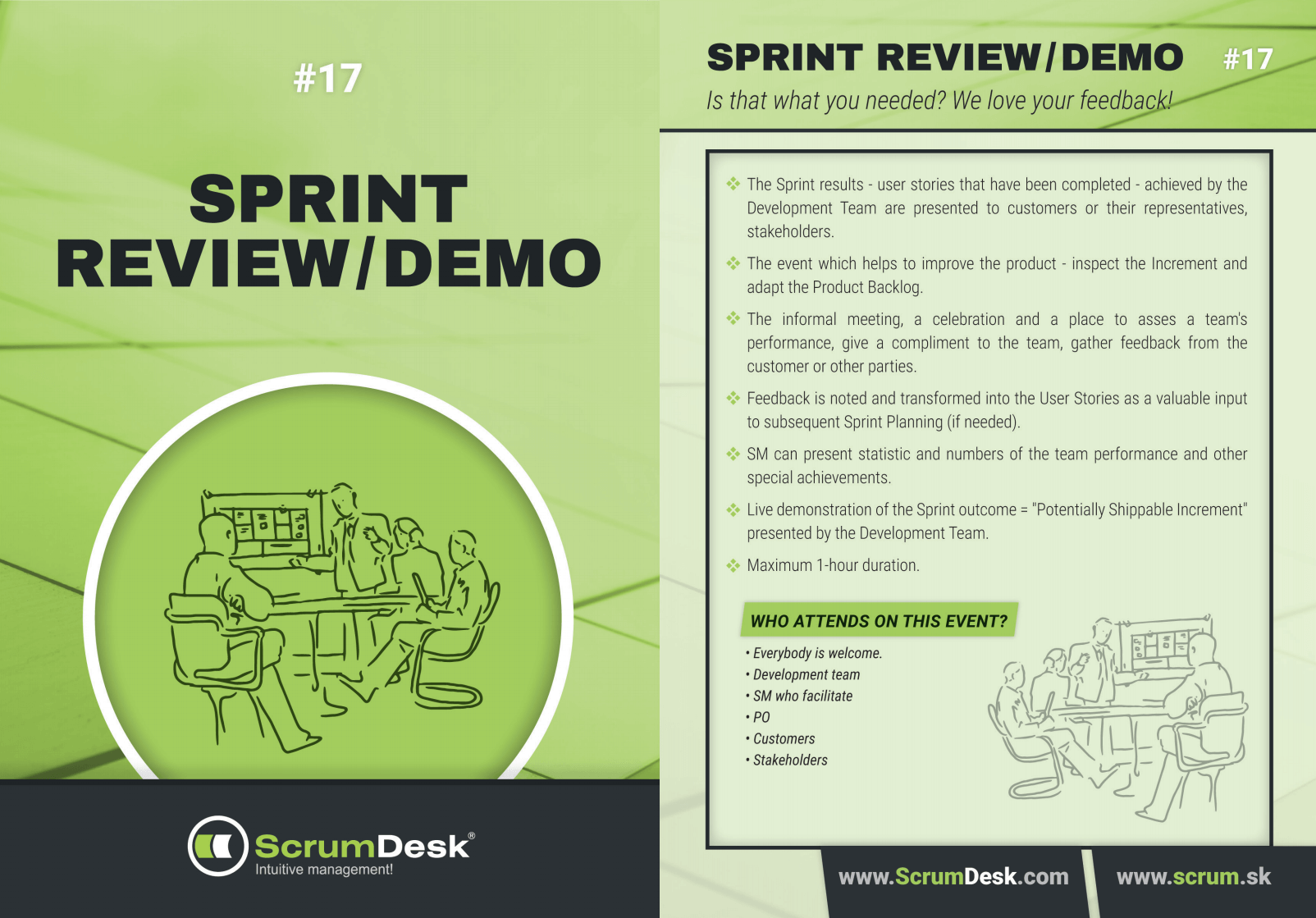 Karty sprint review