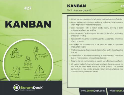 Scrum karty 27 – Čo je Kanban