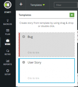 story template a definition of done