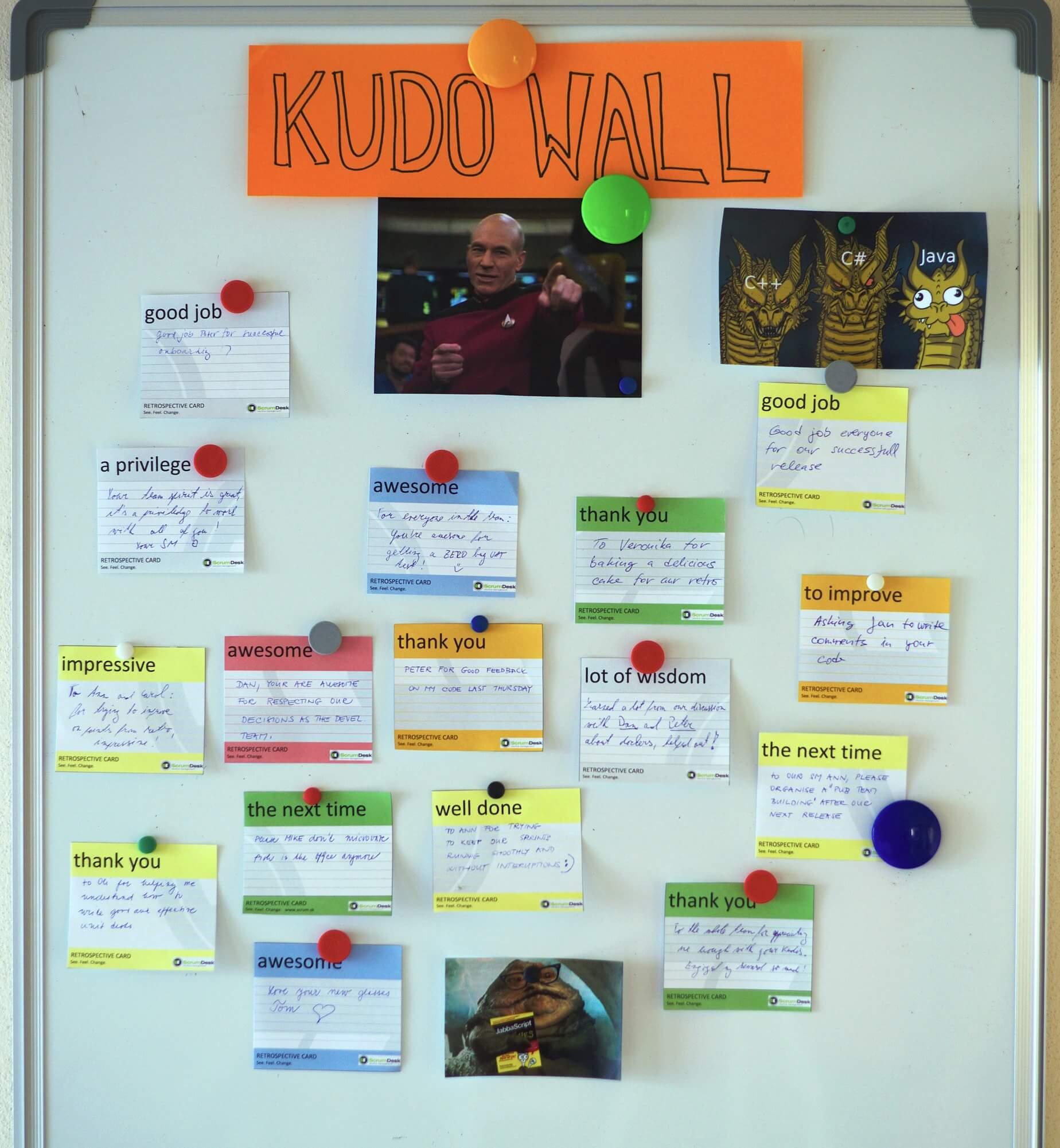 Kudo wall