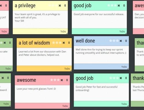 Kudo karty: nástroj na motiváciu aj retrospektívu