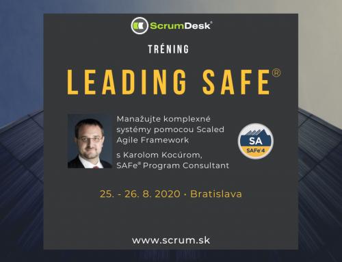 Tréning Leading SAFe®