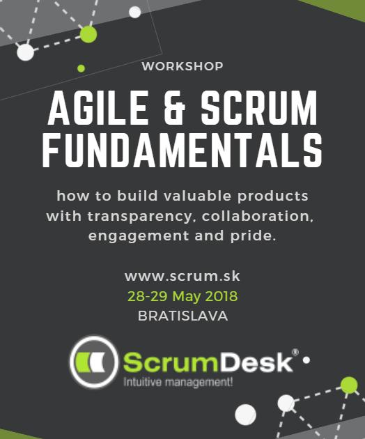 Public training: AGILE & SCRUM FUNDAMENTALS in Bratislava
