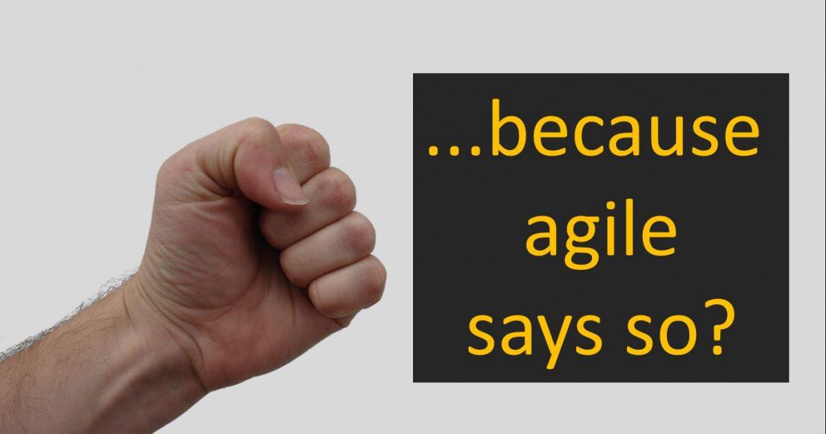 Pokrivené Agile II – Naše agile je iné…