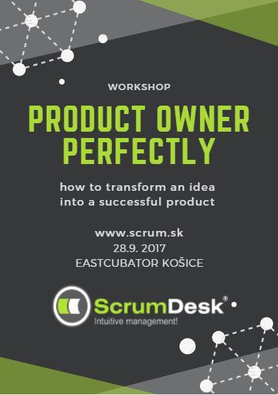 Tréning Product Owner Prakticky, 28.9.2017, Košice