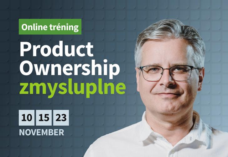 Online tréning: Product Ownership v Novembri